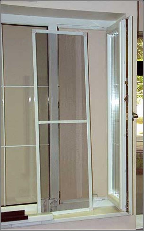 Как установить москитную сетку на пластиковое окно