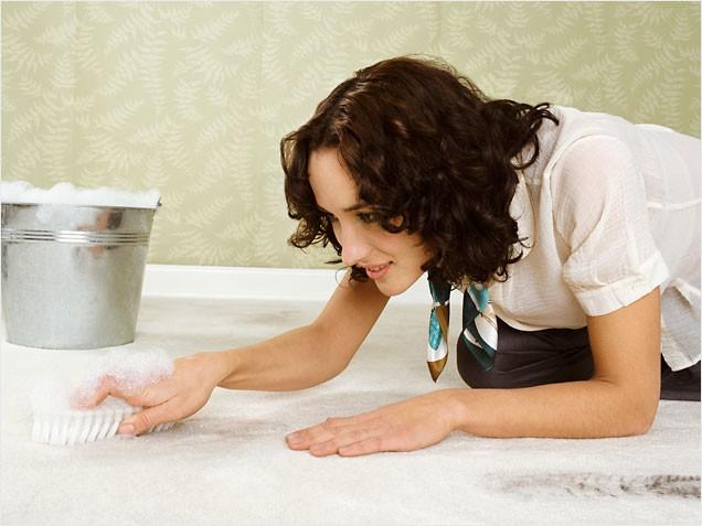 Как отчистить жирное пятно