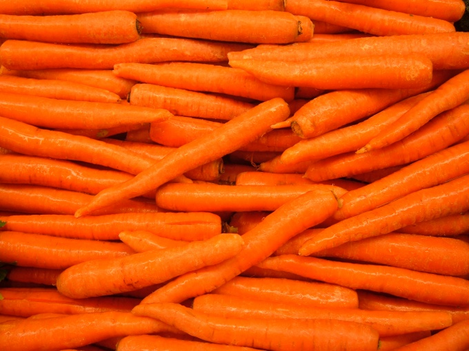 How to cut carrot sticks