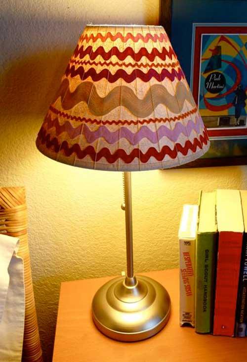 Как украсить лампу