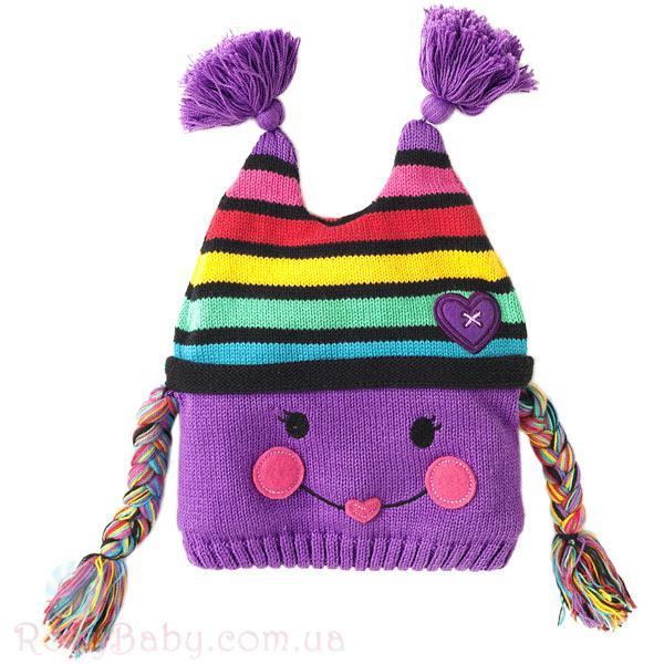 Как связать зимнюю шапочку