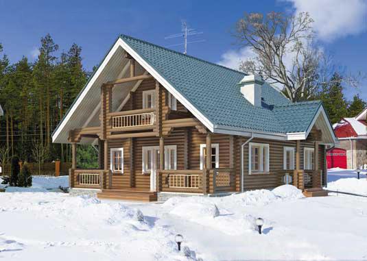 Как сделать дом зимним