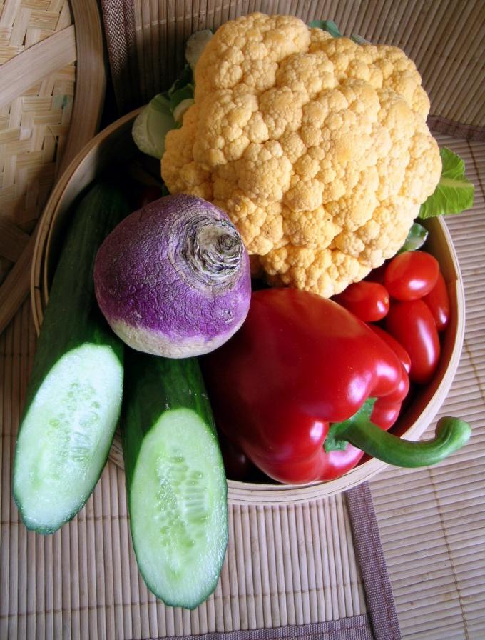 Как приготовить цветную капусту в сухарях