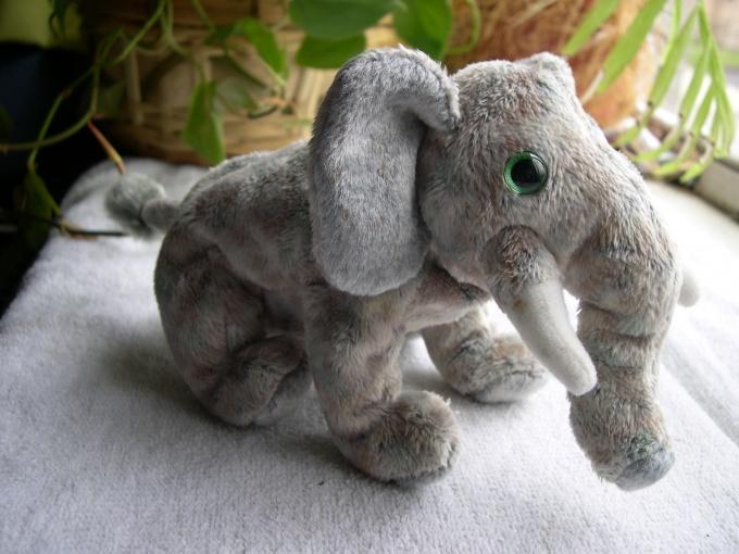 Как сшить слона