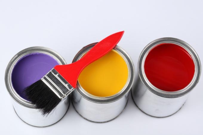 Как получить желтую краску
