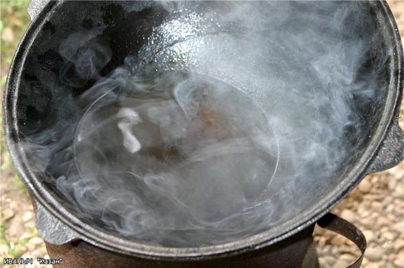 How to prepare the cauldron