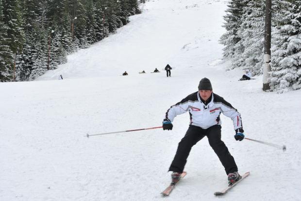Как выбрать длину лыжных палок