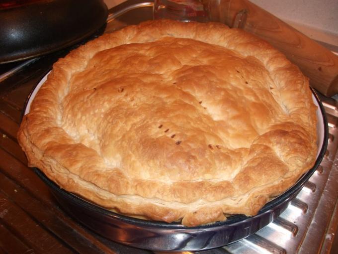 Как приготовить пирог из курицы