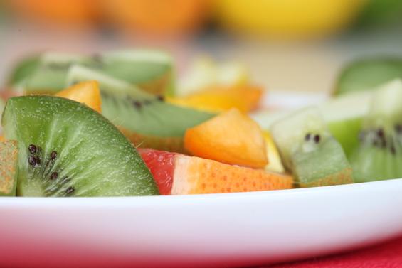 Как готовить салат с киви и мандаринами
