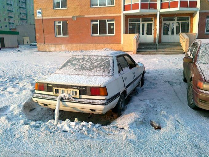 Как убрать машины со двора