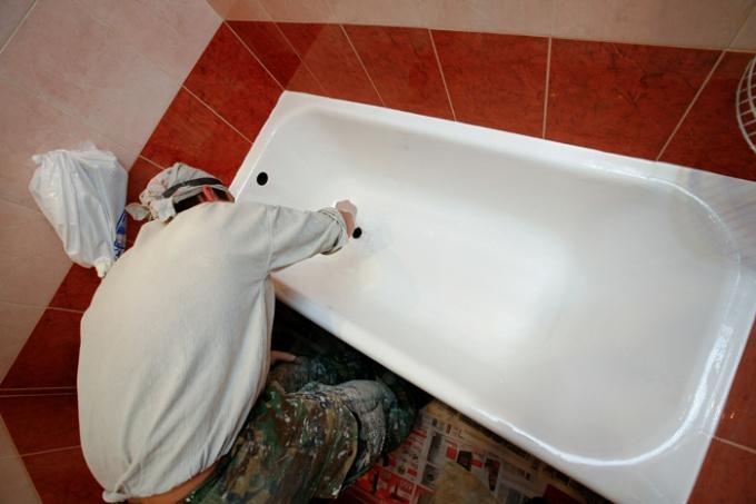Как установить ванну на ножках