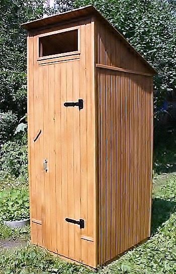 Как построить туалет на улице