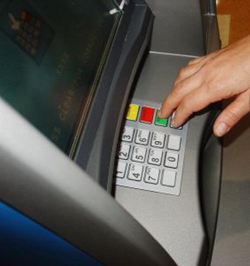 Как внести деньги через банкомат