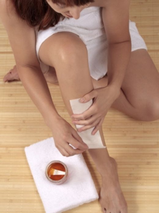 How to do waxing
