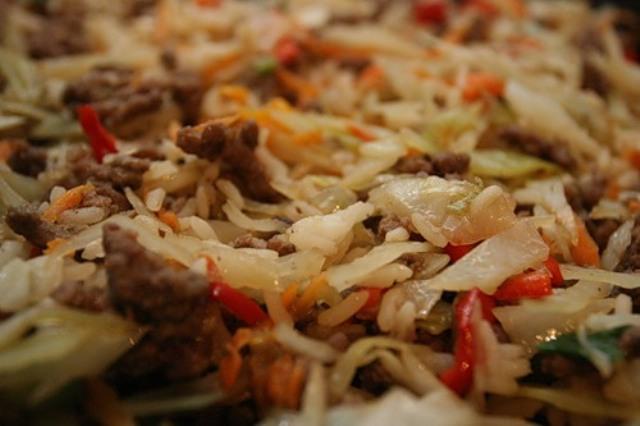 Как приготовить рис с грибами