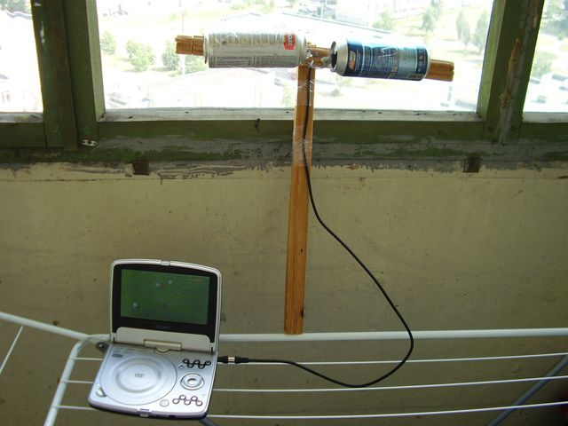 How to make TV antenna