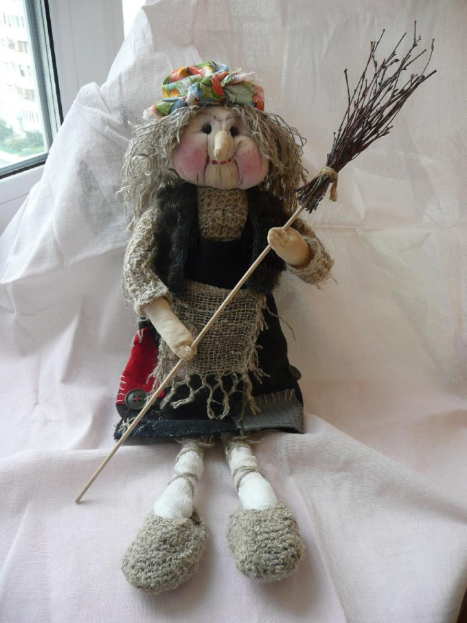 How to sew a Baba Yaga