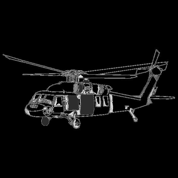 Как рисовать вертолёт