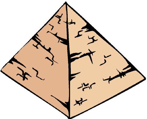 Как рисовать пирамиду