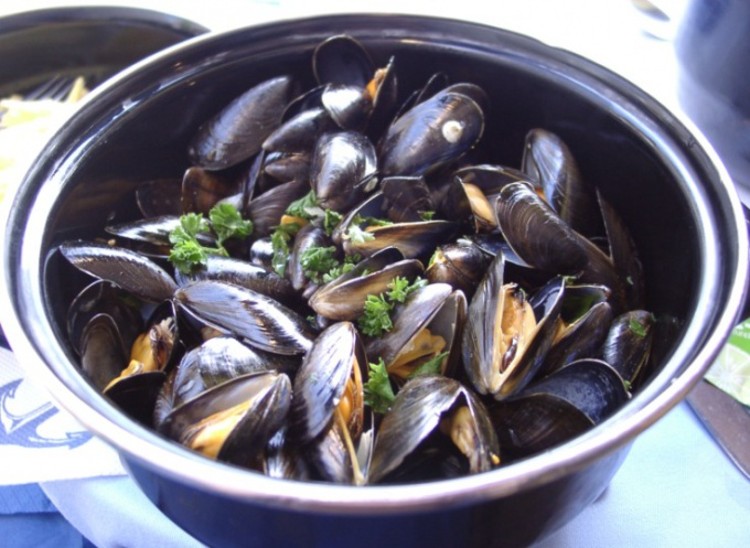 How to cook mussels in the shell