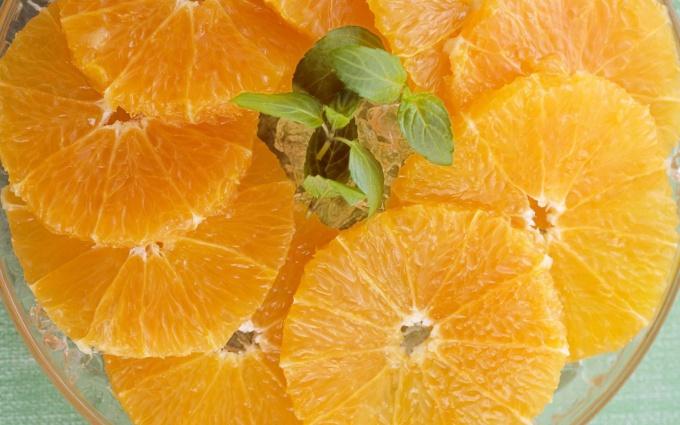 Как порезать апельсин