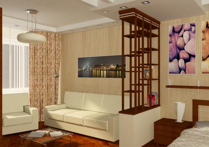 Как перепланировать однокомнатную квартиру