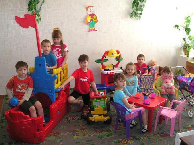 Как оформить ребенка в садик