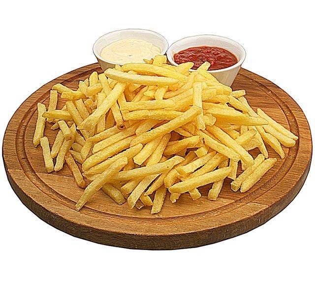 Как пожарить картошку фри