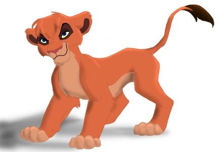 Как рисовать Короля Льва