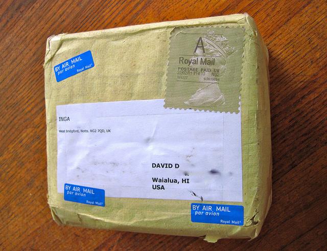 Как обнаружить отправленную посылку
