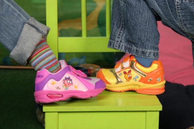 Как подобрать размер детской обуви