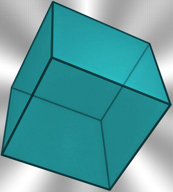 Как найти обьём куба