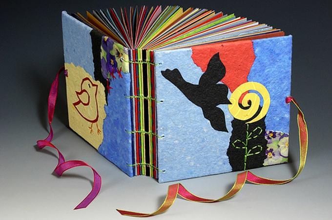 Как сделать детскую книжку