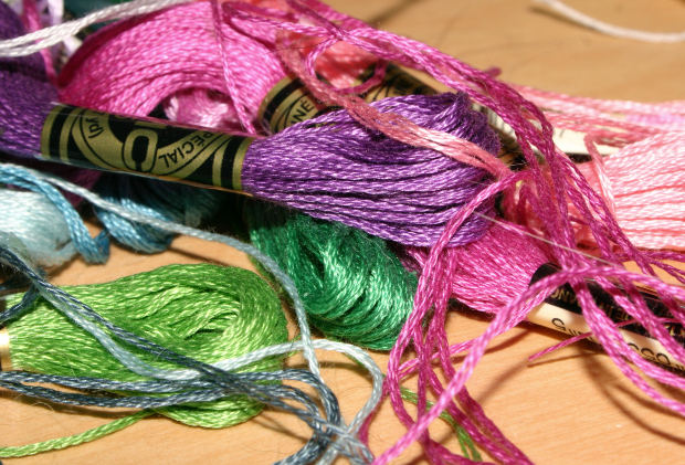 How to make bracelets out of embroidery floss