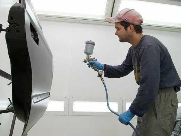 Как обучиться красить автомобиль