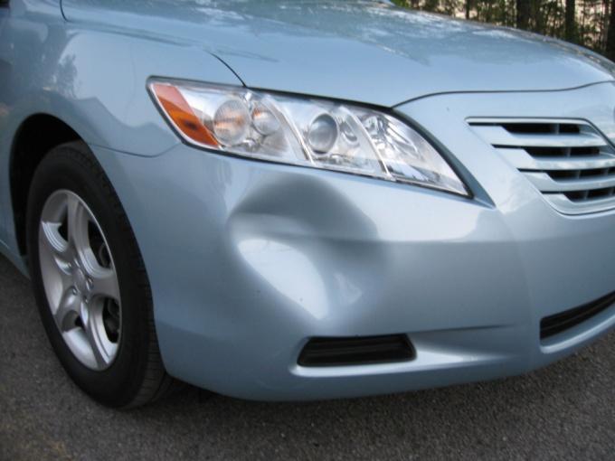 How to straighten bumper