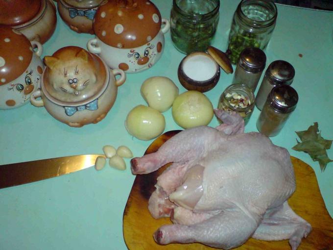 Как убрать запах у курицы