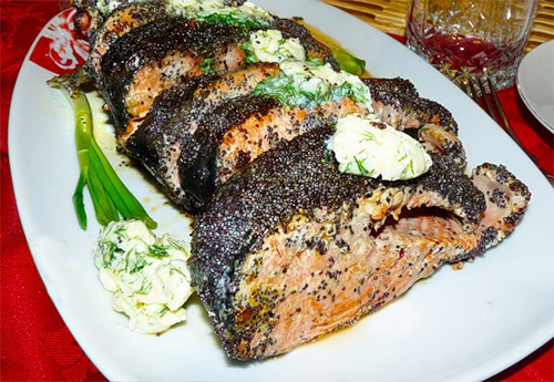 How to cook fish coho