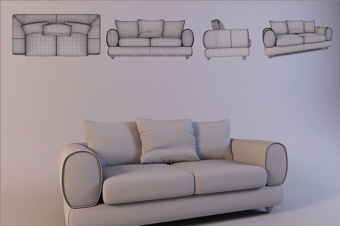 How to make a drawing of the furniture