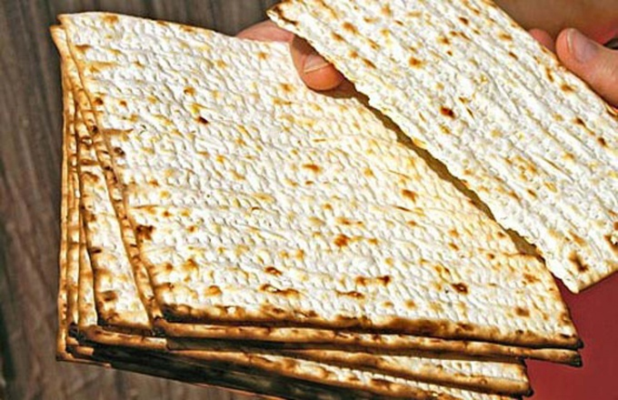 How to cook matzah
