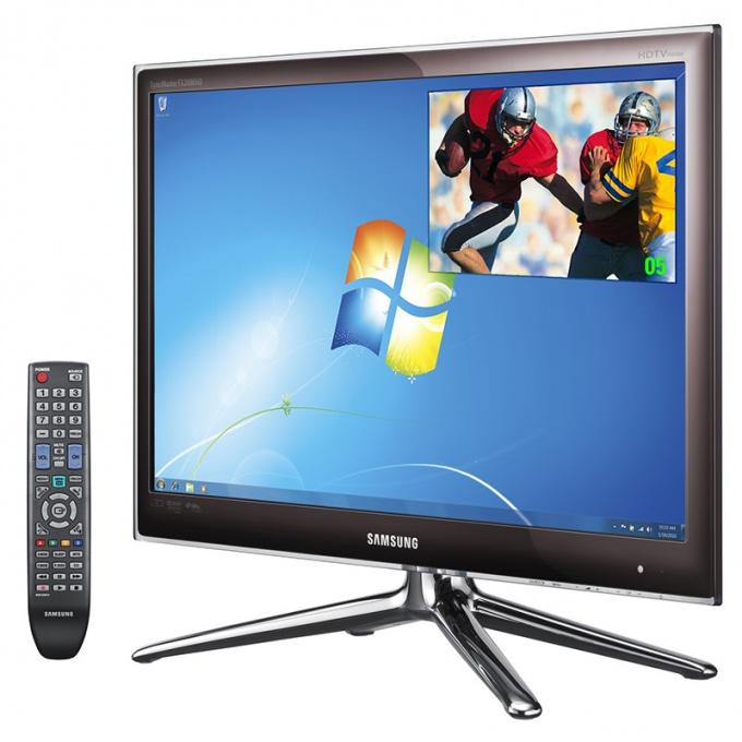 Как подключить кабельное телевидение к компьютеру