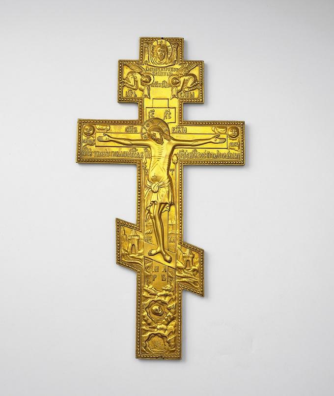 Как устанавливать крест