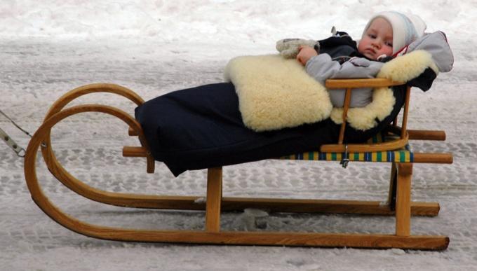 Как одеть младенца зимой