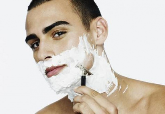 Как брить щетину