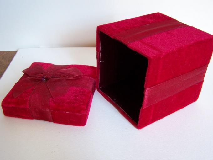 Как сделать красивую коробку