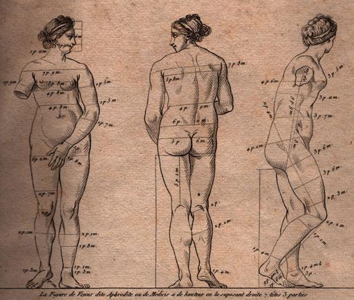 Как рисовать человеческое тело