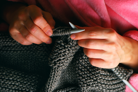 How to start knitting a sweater