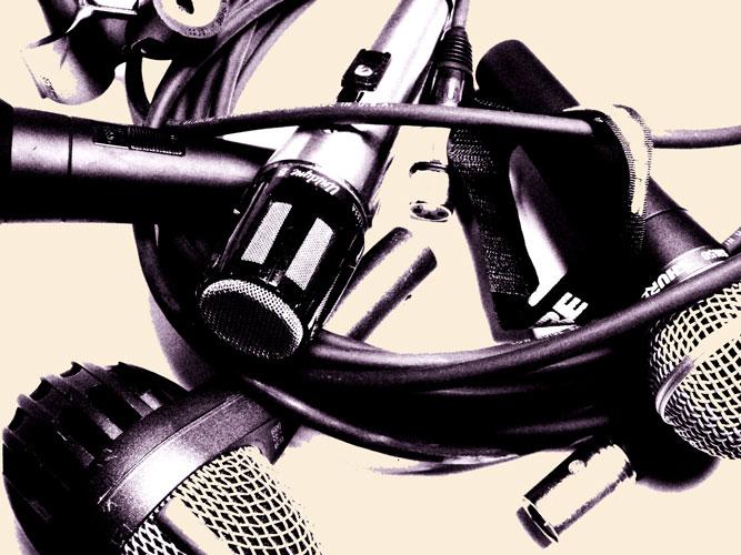 Как записывать музыку на микрофон