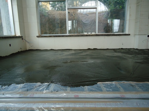How to make a screed wood floor