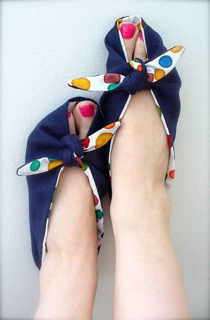 Как сшить туфли